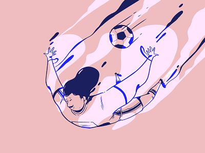 Sport Illustration 1 web illustrations full color colors blue character design creative  illustrator series creativity draw art photoshop sports design color illustration