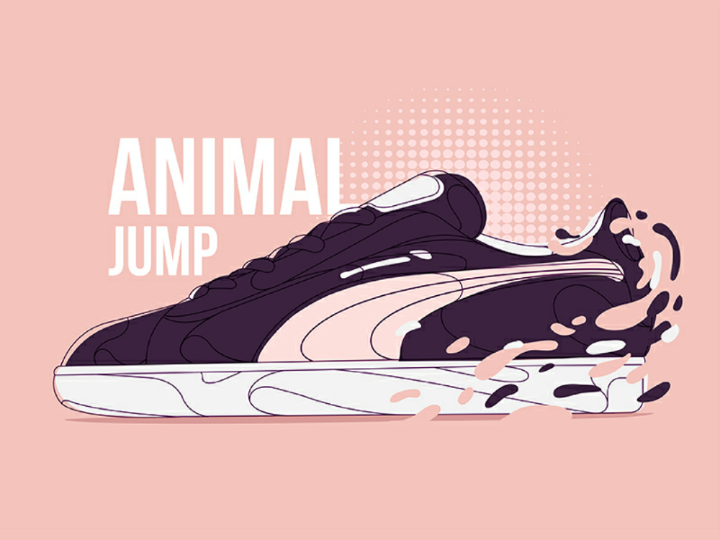 Shoes concept 2.0 illustrator series vector color creativity shoes puma design