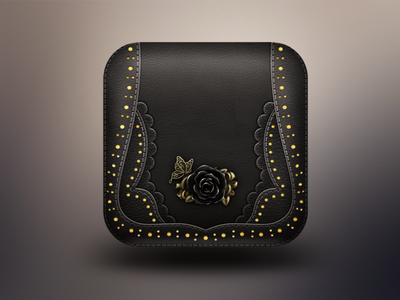 ANNA SUI wallet icon app logo ios iphone
