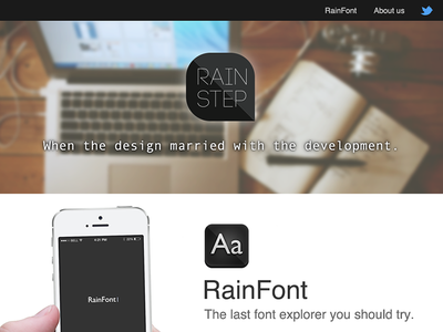 RainStep Web Design web responsive