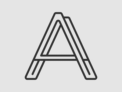Logo Alphabet A  logo alphabet a