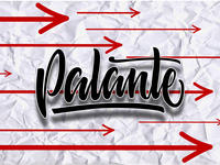 Palante Lettering