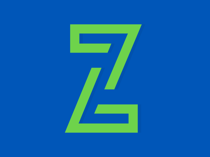 30 Minute Daily - Alphabet - The Letter Z by Nick Bradshaw on Dribbble