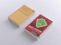 MLB Ballpark Trading Cards - Angel Stadium