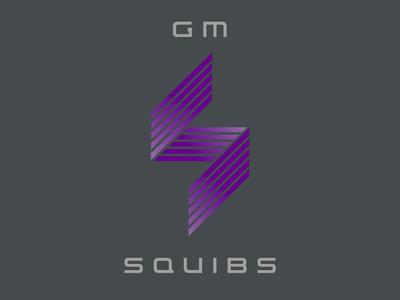 Twitch Streamer GM Squibs Logo