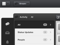 Rule.fm - Lited Stream Activity View