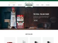 Proraso Homepage