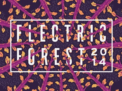 Electric Forest 2014 Poster