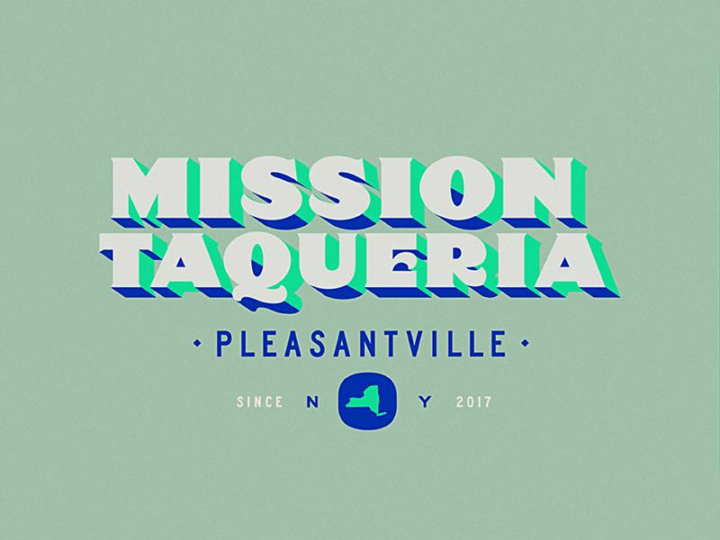MISSION TAQUERIA ID identity branding restaurant taqueria new york lettering logotype