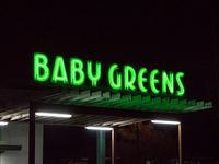 Baby Greens Rooftop Neon