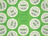 Baby Greens To-Go Stickers