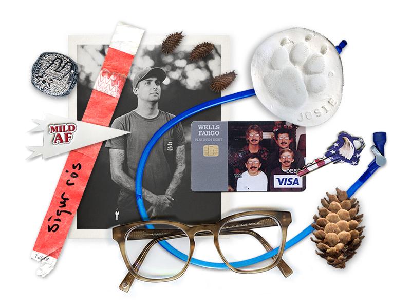 DRWLKN.com found items brand online website collage identity spurs drwlkn