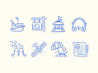 Coastal News Today Icons