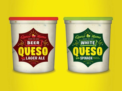 Queso WIP wip cheese packagedesign packaging queso