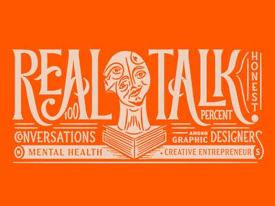 Austin Design Week simon walker lauren dickens drew lakin illustration panel lettering mental health event week design austin