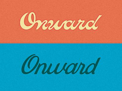 Onward Cycles Logotype Exploration