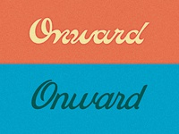 Onward Cycles Logotype Exploration