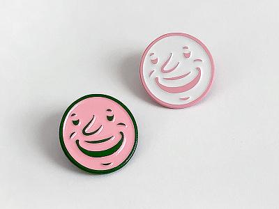 Feel Good Enamel Pins wearable smiley face feel good smile enamel pin