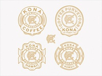 KCP Monogram Badge Variants