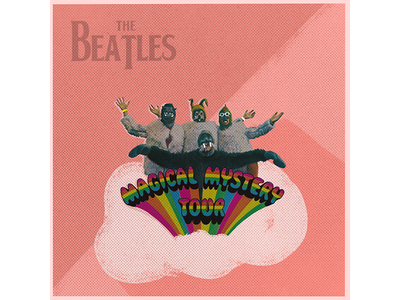 Magical Mystery Tour design graphic design procreate illustration beatles