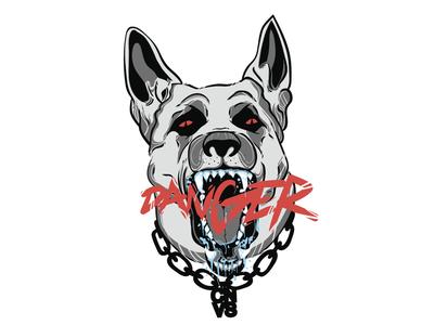 Angry dog 1