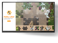 Advertising by jigsaw puzzle
