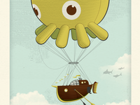 Octoballoon poster