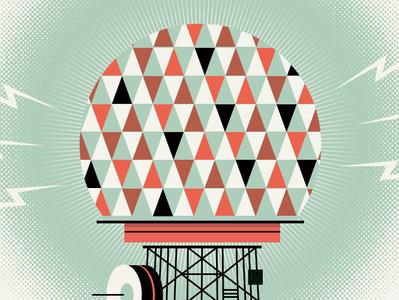 MusicNow 2013 design illustration poster