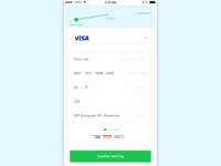 Credit Card Checkout | Flight booking