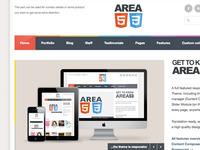 AREA53 - Free PSD Site Template