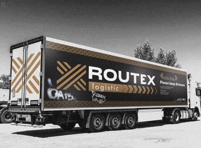 logistic company identity