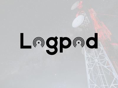 Logpod Logo Design