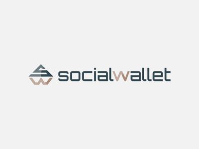 Social wallet Logo Design