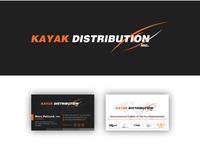 Kayak Business card Design