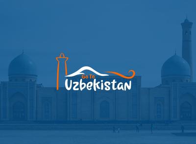 Uzbekistan travel logo
