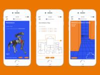 Boston Dynamics App Interface Design