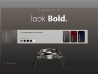 Luxury Item Page Concept