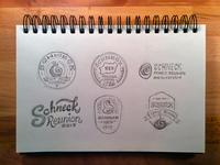 Schneck sketches