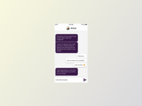 Daily UI Challenge Day 13 - Direct Messaging