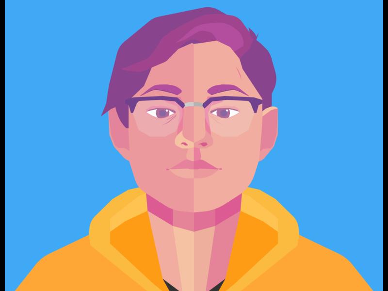 Self Portrait Avatar illustrator self portrait avatar