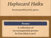 Haphazard Haiku