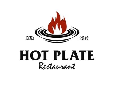 Hot Plate Restaurant Logo