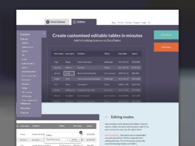 DataTables Redesign