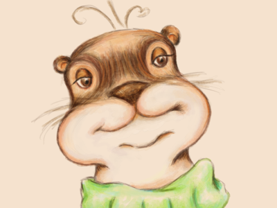 Animal Alphabets Otter