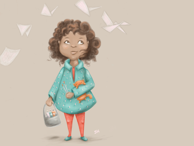 For Colour Collective Plaster Pink colourcollective character design illustration kidlitart childrens book