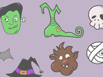 Halloweeny Icons