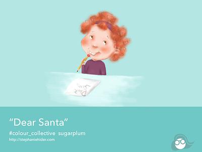 Dear Santa kidlitart christmas dear santa colour-collective