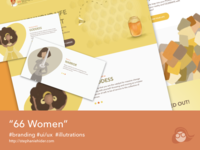 66Women illustrations