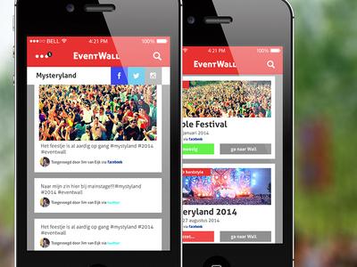Eventwall app