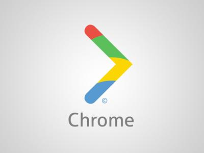 Google Chrome logo redesign logo chome redesign google